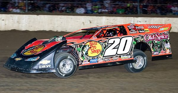Tony stewart late model dirt car dirt racing for Dirt track race car paint schemes