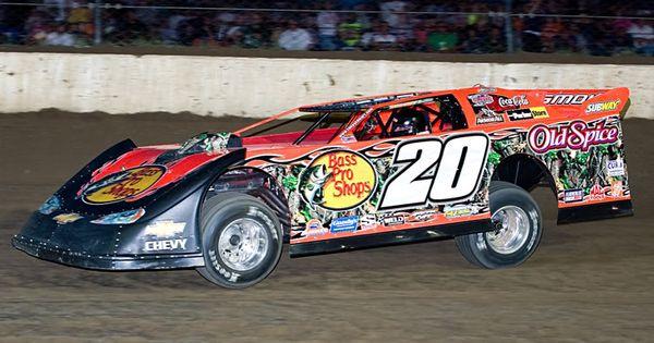 Tony stewart late model dirt car dirt racing for Dirt track race car paint schemes