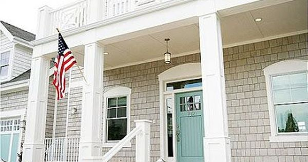 White House Exterior Colors Schemes Curb Appeal