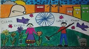 Image Result For Clean India Green India Posters Drawings In English India Poster Drawing Competition Poster Drawing