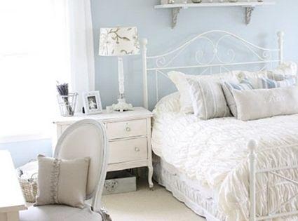 Decora tu dormitorio con estilo shabby chic shabby chic - Dormitorio shabby chic ...