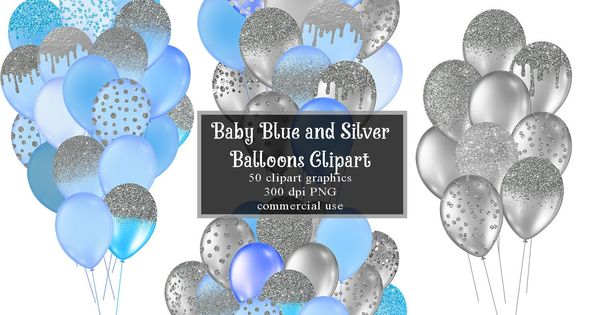 Gold And Silver Balloons 0307 Balloon Clipart Balloon Balloons Png And Vector With Transparent Background For Free Download Luftballons Luft