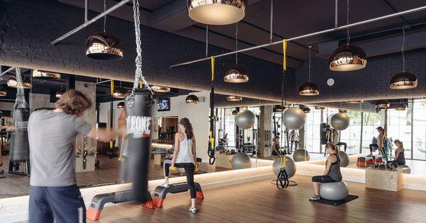 Club xii boutique gym in madrid by i arquitectura 3 - Gimnasio espana industrial ...