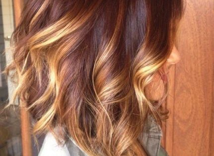 5 Thrilling Ideas For Red Ombre Hair
