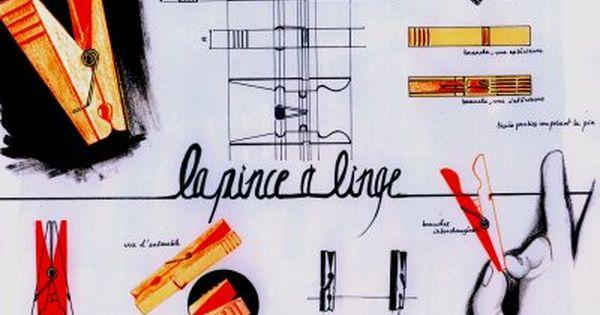 Design D Objet Planche D Analyse Sur La Pince A Linge Croquis De Produit Objet Design Page Planche