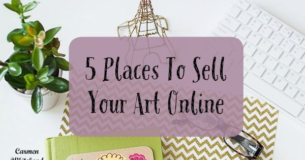 5 places to sell your art online for Places that buy art