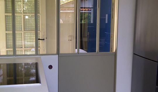 Porte galandage coulissante porte fer pinterest - Isolation phonique porte coulissante ...