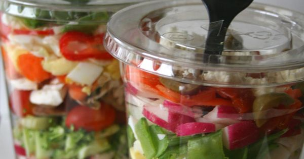 Great option for a healthy grab-and-go lunch or dinner, or for travel.