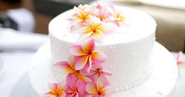 Hawaii Destination Wedding - Cake by mauiweddingcakes.com / Photography by AnnaKimPhotograph... www.allabouttravel.org