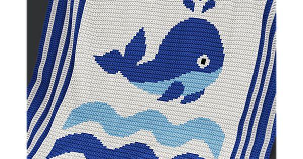 crochet pattern baby blanket pattern whale by