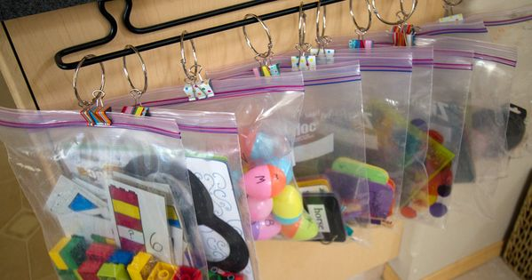 AWESOME BUSY BAG IDEAS. Finally a cute use for my binder clips