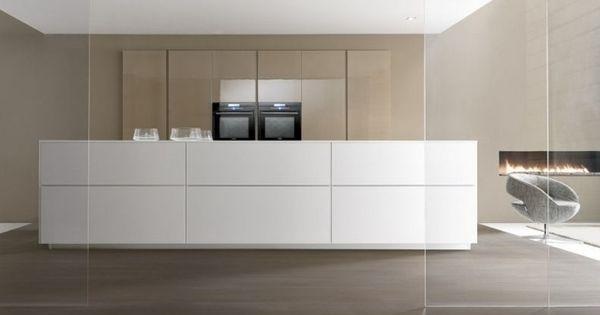 küche kochinsel modern weiß beige designer Marconato Zappa Comprex ... | {Küchenblock modern 12}