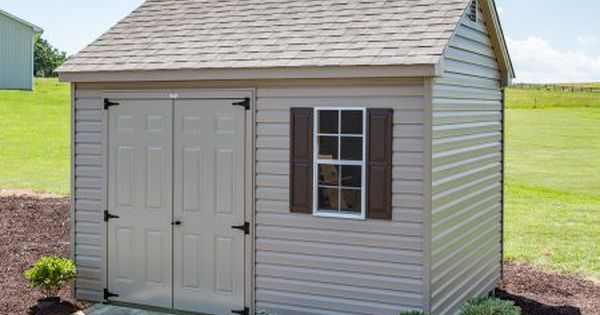 10x12 Vinyl Cottage Storage Shed Byler Barns Cottage Storage Vinyl Sheds Shed