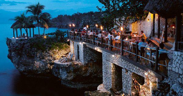 Push Cart Restaurant Negril Jamaica Rockhouse Hotel