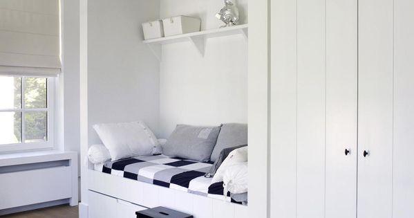 Bedstee oscar v exclusieve villabouw renovatie woonidee n slaapkamer pinterest - Tiener meisje mezzanine slaapkamer ...