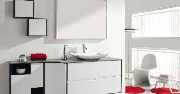 Mueble de ba o modulo 60x100cm mixto roble wengue - Modulos de bano ...