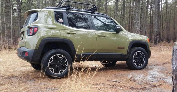 Jeep Renegade Th With Daystar Lift Kit Installed Jeeprenegade
