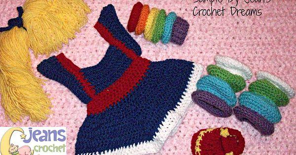 Dorothy Dinosaur Knitting Pattern : Brite Girl Set pattern by Too Yarn Cute
