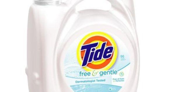 Tide Free Gentle Liquid Laundry Detergent 138 Fl Oz Tide