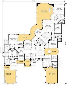 Plan 83395cl Spectacular Master Suite House Plans Floor Plans Dream House Plans