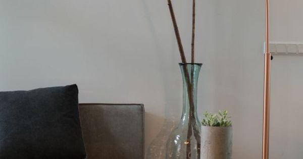 Wohnzimmerlampen modern bodenlampe kupferfarbe for Wohnzimmerlampen modern