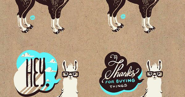 Design by Shyama Golden | typography illustration I love the illustration along