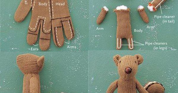 wow from glove to bear