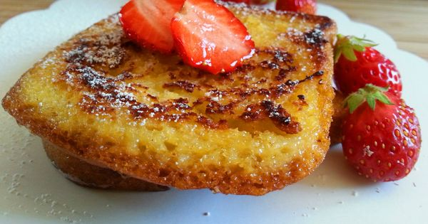 Pain perdu au lait d 39 amande vanill d lices sucr es for Amande cuisine bjorg