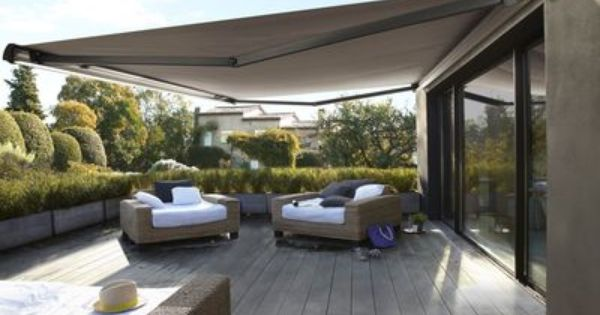 le store banne de terrasse pergolas patios and. Black Bedroom Furniture Sets. Home Design Ideas