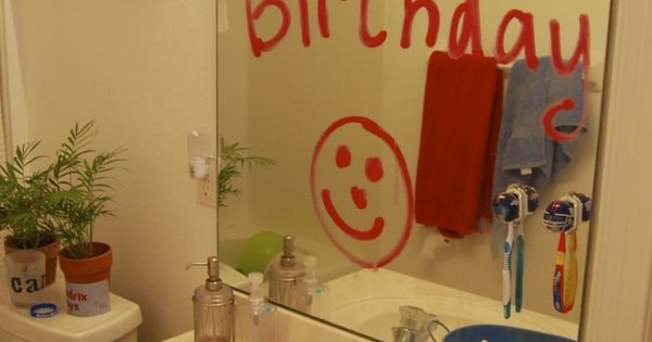 20 ways to make you child feel special on their birthday. So