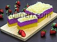 Resep Kue Lapis Talas Bogor Enak Mudah Praktis Resep Kue Resep Kue Lapis