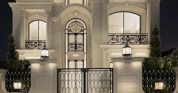 Private villa architecture design qatar doha for Architectural design company in qatar
