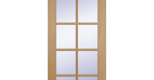 Builder 39 s choice 24 in x 80 in 24 in clear pine wood 10 for 1 lite clear glass pine primed white prehung interior door
