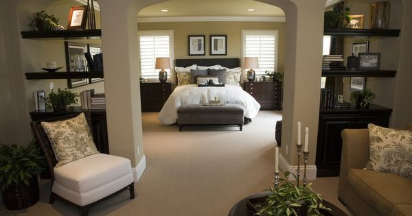master bedroom ideas | Master Bedroom Decorating Ideas: Incorporating Function ... I'd