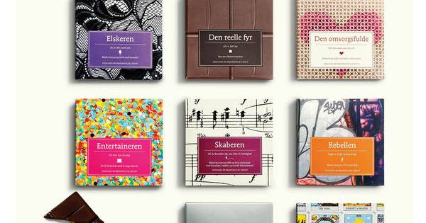 Chocolates with attitude 2012 by Bessermachen DesignStudio neat idea for chocolate bars,