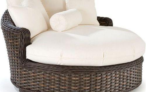 Round Wicker Cuddle Chair Google Search Backyard