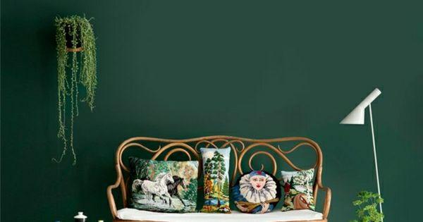 Wandfarben bilder dunkel gr ne wandfarbe wanddekoration - Coole wandfarben ...