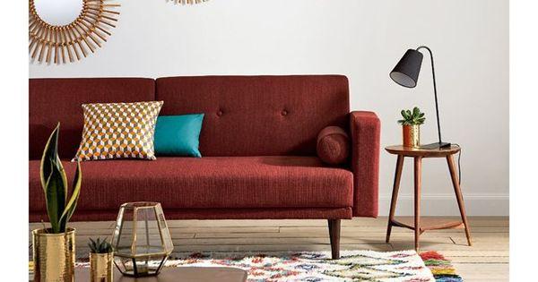 canap convertible 3 places tuske la redoute interieurs mes tendances home et deco. Black Bedroom Furniture Sets. Home Design Ideas