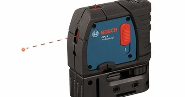 Bosch Laser Level Gpl 3 3 Point Self Leveling Alignment Laser Belt Pouch Bosch Tools Tool Belt
