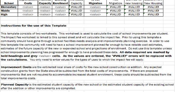 School Improvement Plan Template Excel Templates Pinterest - improvement plan template