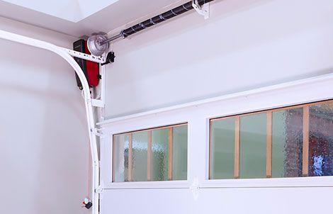 High Lift Garage Door Conversion For Car Lift Garage Doors Garage Design Shop Garage Doors