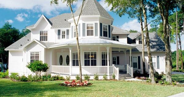 Southern Traditional Victorian House Plan 63340 Floor