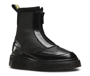 Dr. Martens Womens Coralia Adjustable Strap Boot,Black