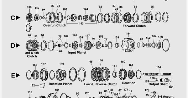 4l80e transmission rebuild diagram 700r4 / 4l60eparts blow up / diagram | auto | pinterest ... 4l80e blow up diagram #13