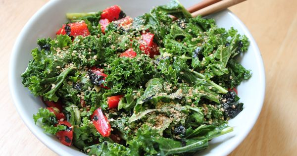 Kale with Seaweed, Sesame and Ginger | Exotic Food ...