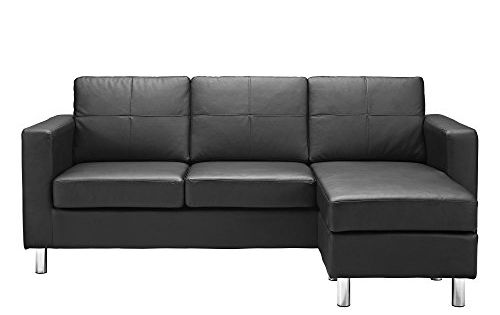 Dorel living small spaces configurable sectional sofa for Small sectional sofa amazon