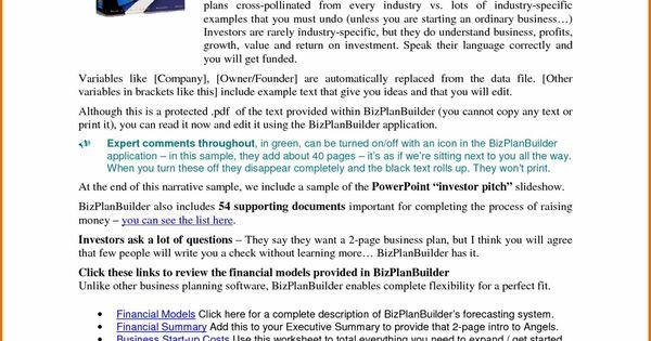 business Business Plan Templates Pdf plan template pdf free