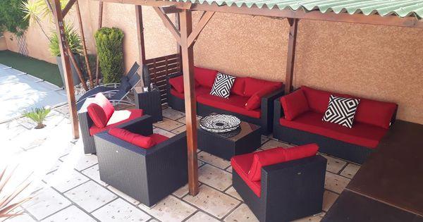 Venezia : Salon de jardin 10 places Alice\'s Garden. Capacité d ...