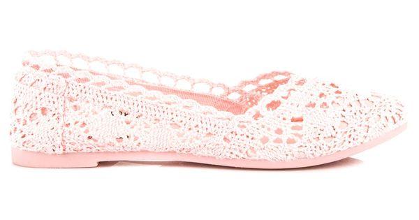 Seastar Rozowe Koronkowe Baleriny Slip On Sneaker Keds Sneakers