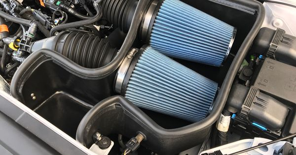 Black Ford Explorer >> Steeda's new Cold Air Intake for the 2017 Twin Turbo ...